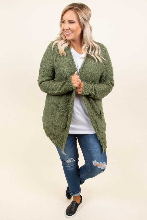 cardigan, long sleeve, long, pockets, olive, comfy, outerwear, fall, winter
