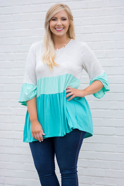 Front Runner Tunic, Mint