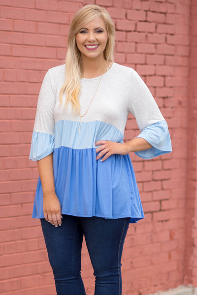 Front Runner Tunic, Sky Blue