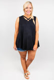 Full Of Surprises Tank, Black