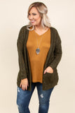 Casually Cozy Cardigan, Olive