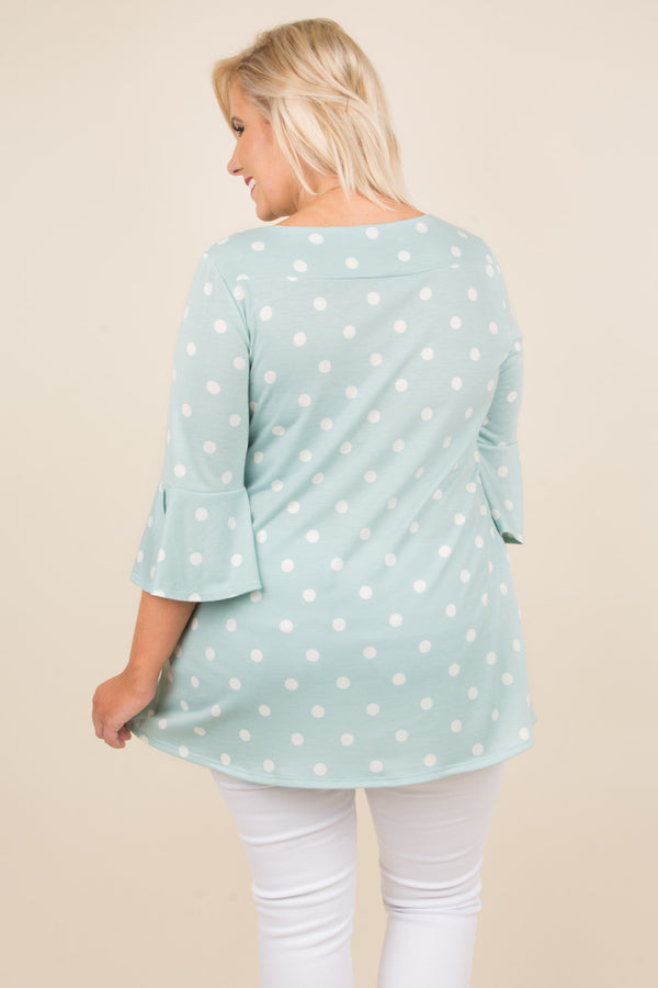 Hey Dotty Tunic, Mint