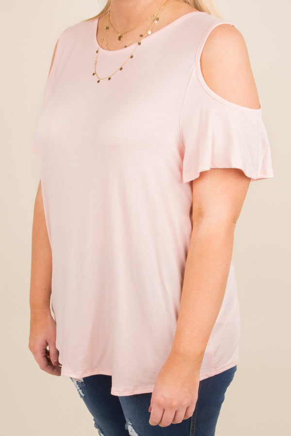 Sunset Drive Top, Blush