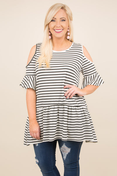 Let's Set Sail Tunic, Ivory