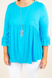 Dream Chasing Top, Aqua