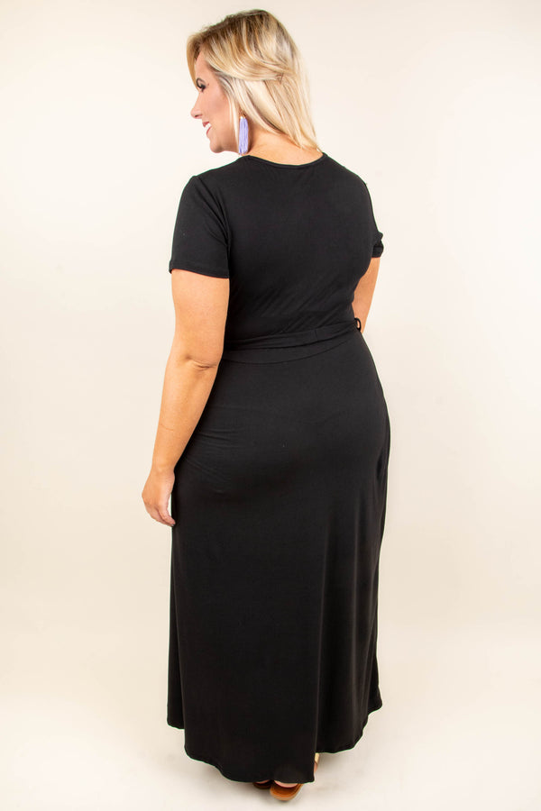 Always Young Maxi Dress, Black