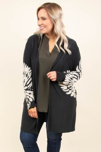 So Little Time Cardigan, Black