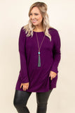 Born Ready Top, Purple