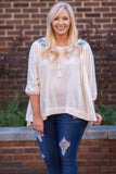 Back To Nature Blouse, Cream