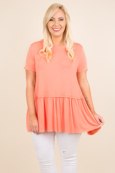 First Choice Tunic, Coral