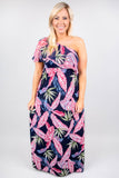 Beach Babe Maxi Dress, Navy