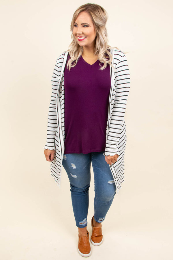 Keep Me In The Loop Cardigan, Ivory