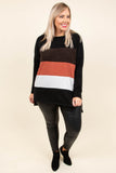 Wander The World Tunic, Black