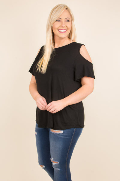 Sunset Drive Top, Black