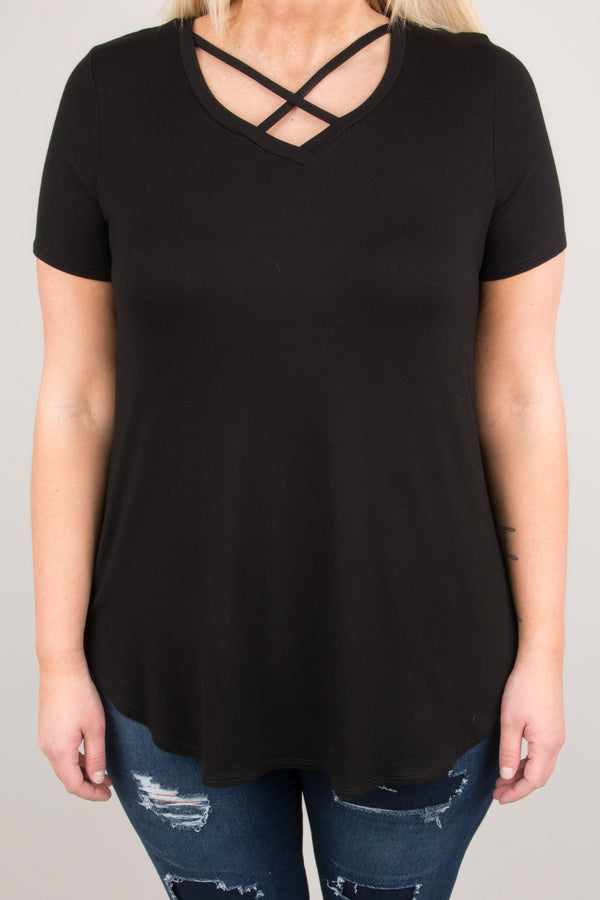 The Avery Top, Black
