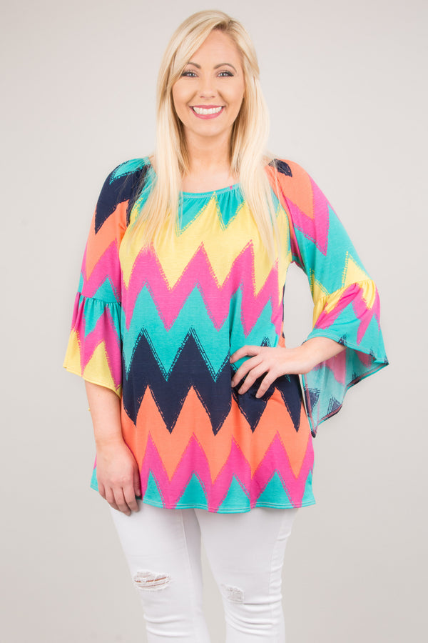 Creating Colors Tunic, Mint