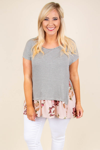 Songs Of Spring Top, Mauve