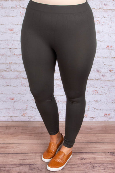 leggings, long, charcoal, comfy