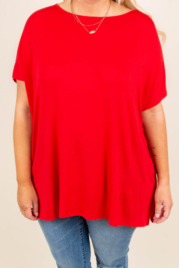 Call On It Tunic, Red