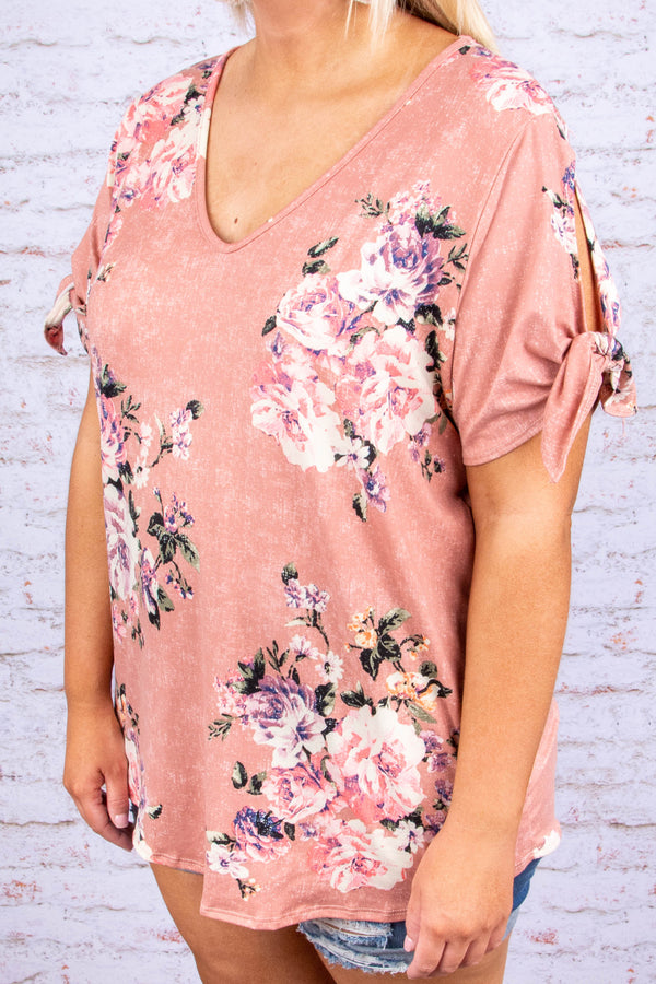 Keep It Sweet Top, Coral