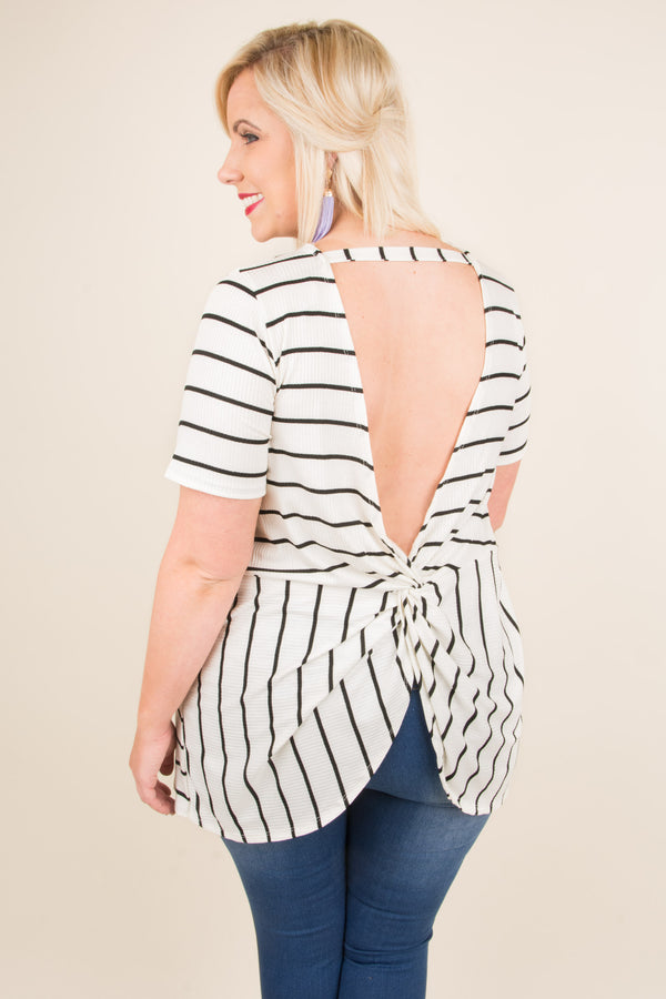 The Marissa Top, White