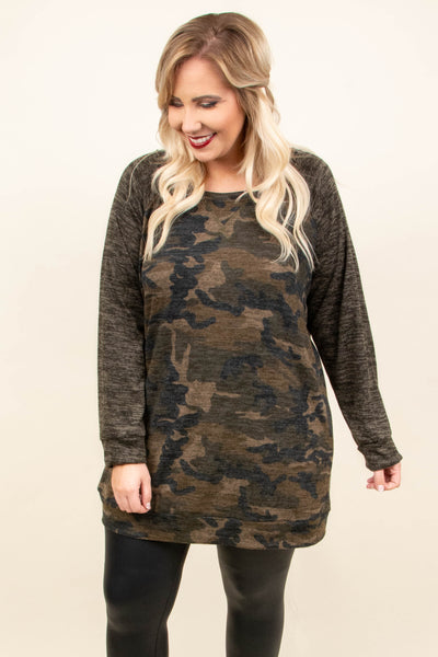 Top Of The Ranks Tunic, Olive