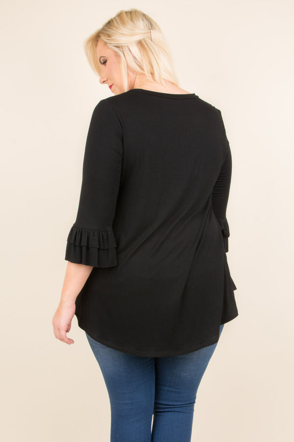 Dream Chasing Top, Black