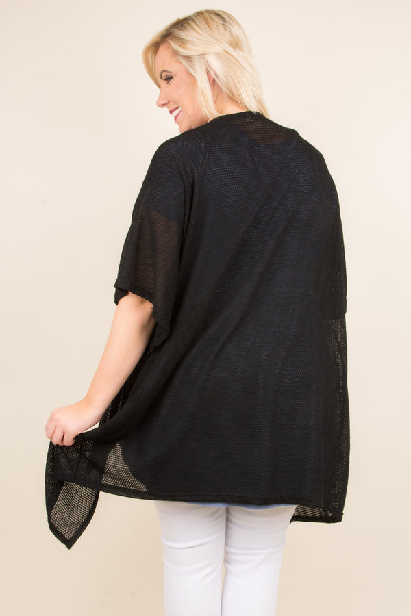 Called For Comfort Cardigan, Black