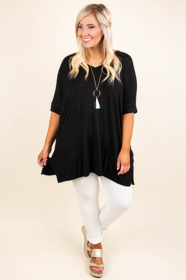 Comfort First Tunic, Black