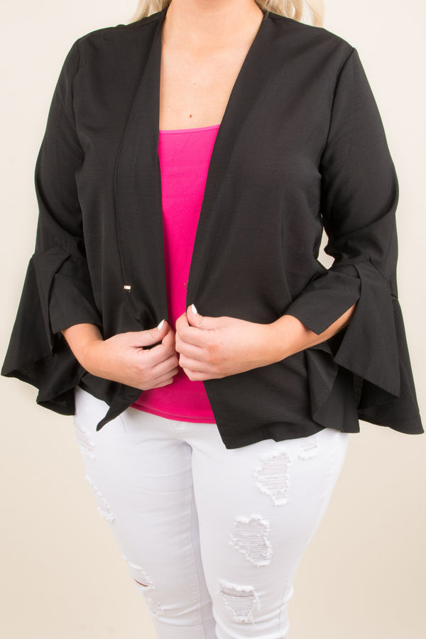 Work And Play Jacket, Black
