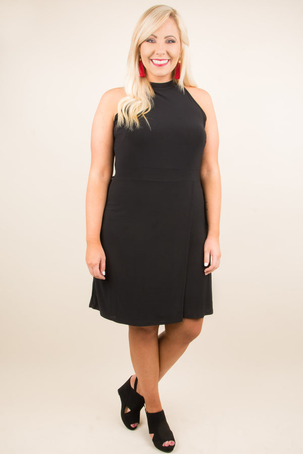 Conquer The Day Dress, Black