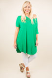 Carry On Tunic, Kelly Green