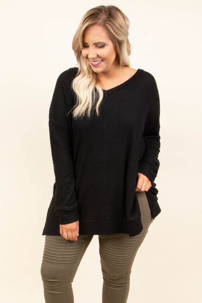 Cool Is Calling Tunic, Black