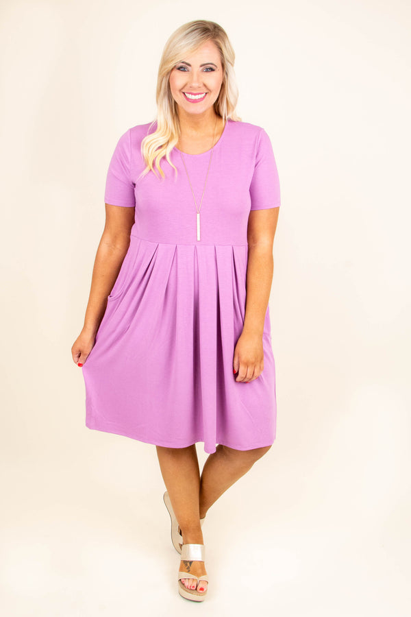 Don't Be Afraid Dress, Dark Mauve