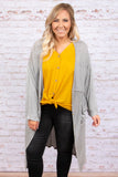 Laid Back Lifestyle Cardigan, Heather Gray