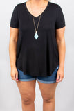 Cover The Basics Top, Black