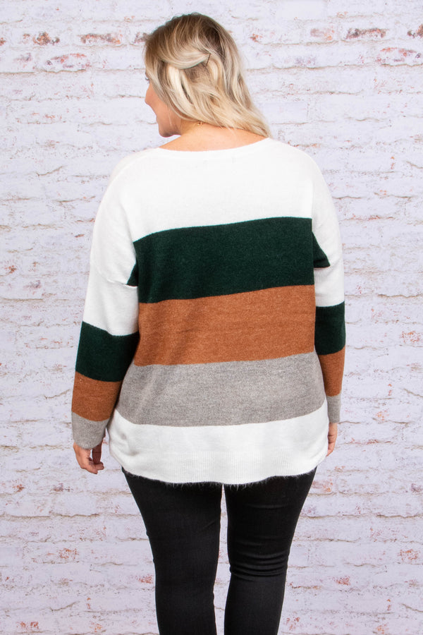 Let's Kick It Sweater, Multi