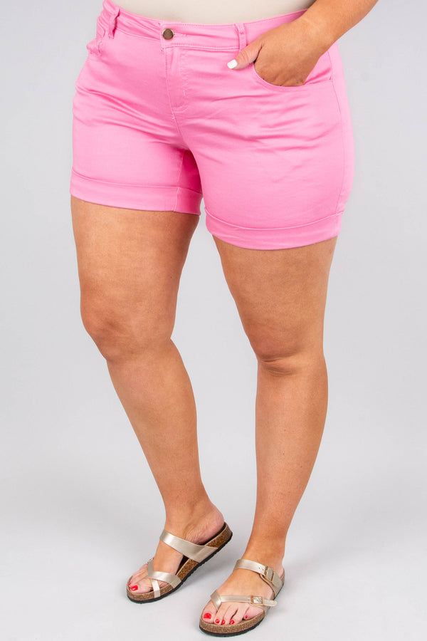 Be Kind Shorts, Light Pink