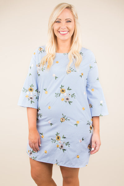 Picked For You Tunic, Blue