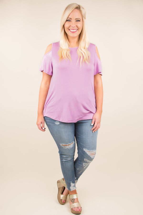 Sunset Drive Top, Lavender