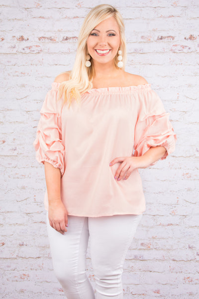 You're A Dream Blouse, Pink