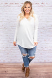 All Things Nice Top, Ivory