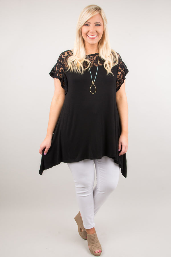 Make You Move Tunic, Black
