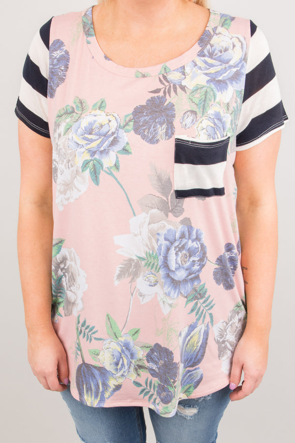 Think Of Me Top, Blush