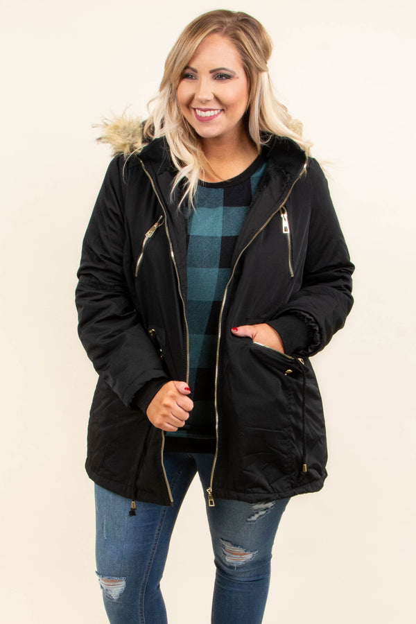 Bring On The Cold Jacket, Black