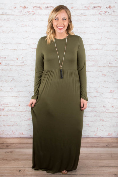 High Expectations Maxi, Olive