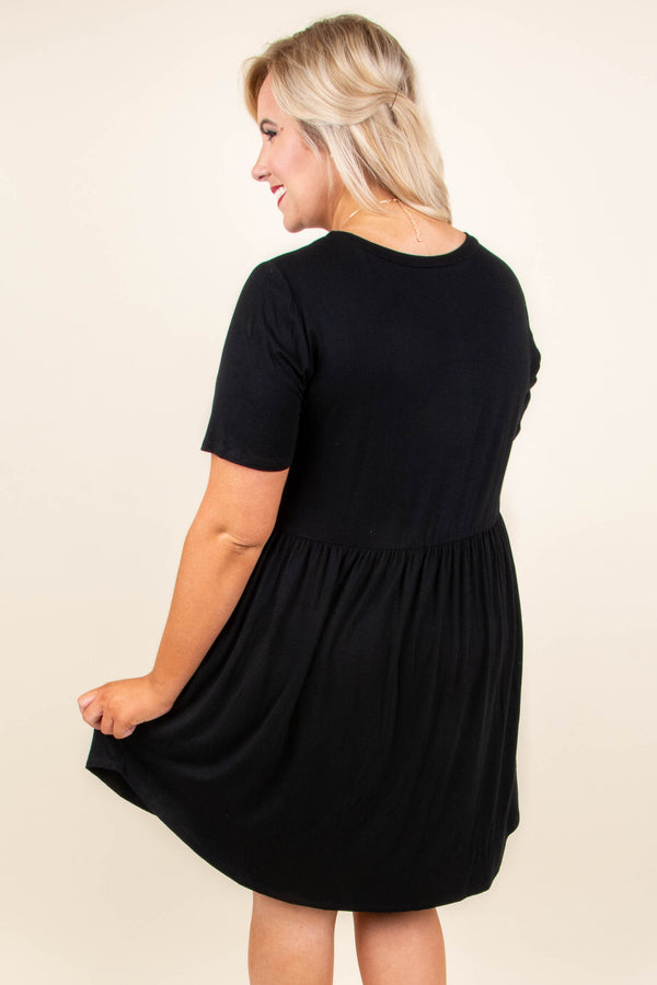 The Sawyer Dress, Black