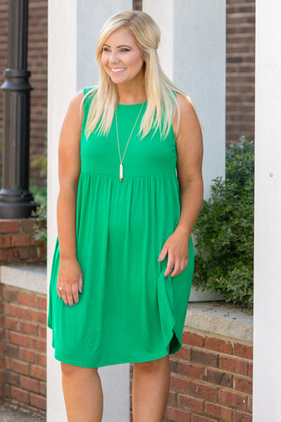 A Day Like Today Dress, Kelly Green