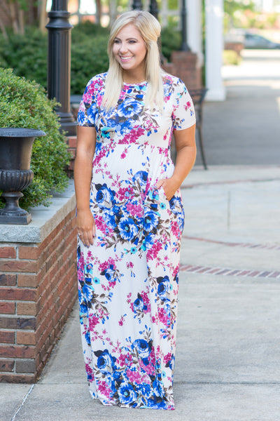 The Sweetest Life Maxi Dress, Ivory