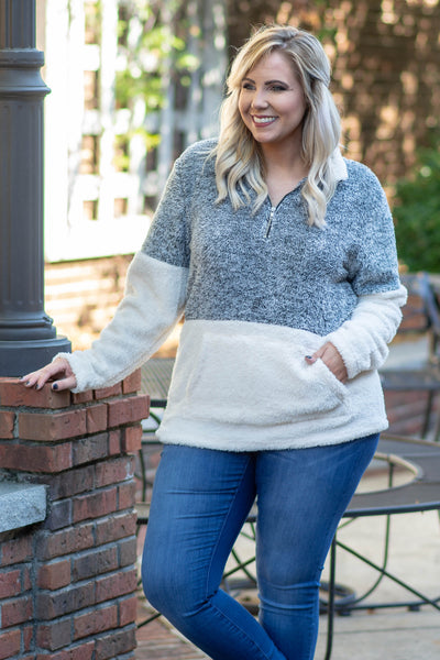 Great Embrace Pullover, Charcoal